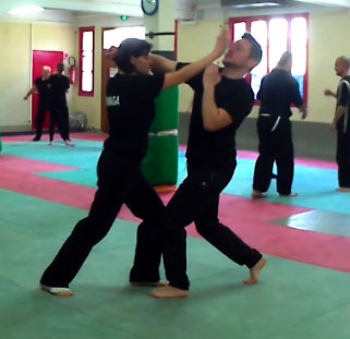 self-defense krav-maga